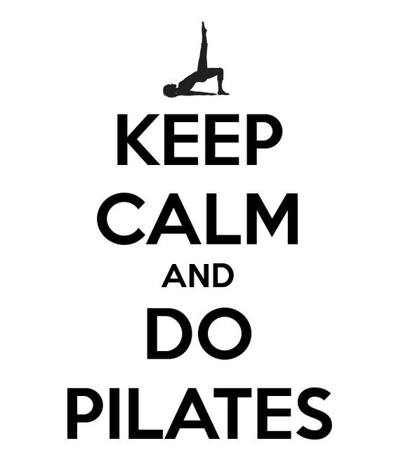 keep calm do pilates